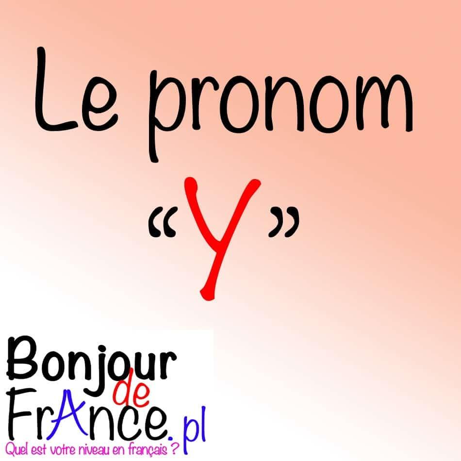 bdf pronom y