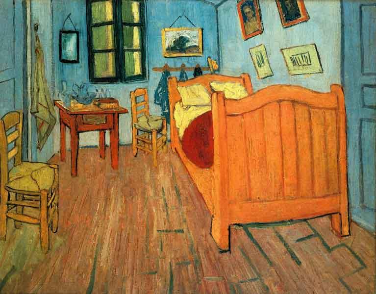 VanGogh sypialnia