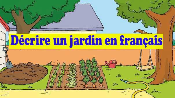 description dun jardin