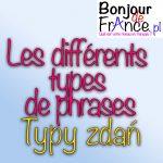 Les différents types de phrases