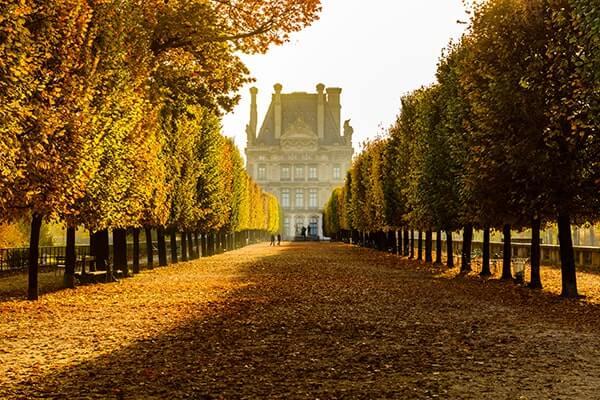 jesien w paryzu